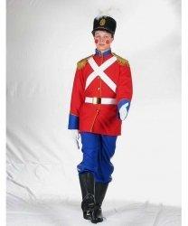Profesjonalny strój pomocnika Świętego Mikołaja - Żołnierzyk