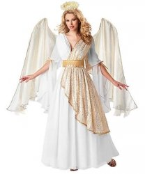 Kostium świąteczny - Anioł Deluxe II