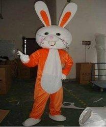 Chodząca maskotka - Orange Bunny