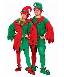Kostiumy świąteczne - Para elfów