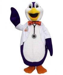 Strój chodzącej maskotki - Pingwin Doktor