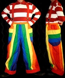 Profesjonalny strój dla klauna - Klaun Cyrkowy 2