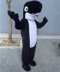 Strój chodzącej maskotki - Waleń Czarny