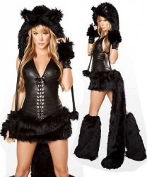 Seksowny kostium - Black Cat Premium