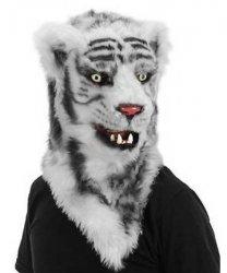 Maska lateksowa - Tygrys Futrzak