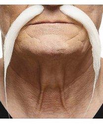 Sztuczne wąsy - Bajkowy Święty Mikołaj 5