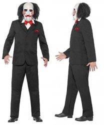 Kostium z filmu - The Saw  Jigsaw Puppet
