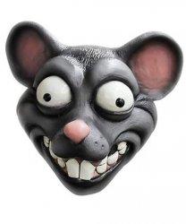 Maska lateksowa - Szczur