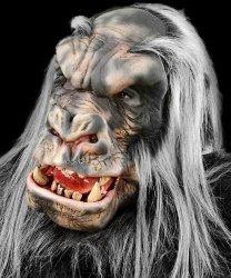 Maska lateksowa - Kongo Goryl Srebrny