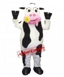 Strój chodzącej maskotki - Krowa Kwiatuszek