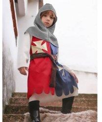 Strój teatralny dla dziecka - Krzyżowiec