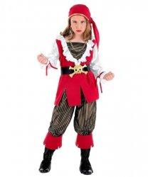 Kostium Karnawałowy dla dziewczynki - Piratka L