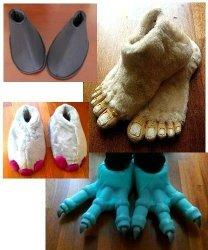 Buty chodzącej maskotki (1 para)