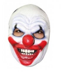 Maska lateksowa - Clown