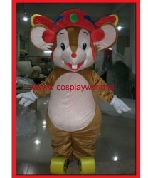Chodząca maskotka - Mysz Świąteczna