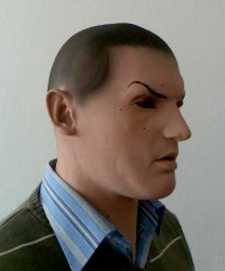 Maska lateksowa - Gomer