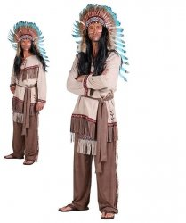 Kostium teatralny - Indianin Navajo