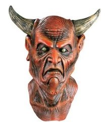 Maska lateksowa - Szatan