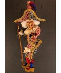 Marionetka wenecka - Poliszynel (77 cm)