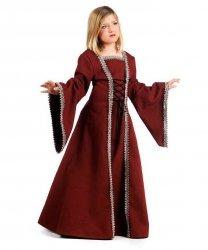 Kostium dla dziecka - Średniowieczna Dama