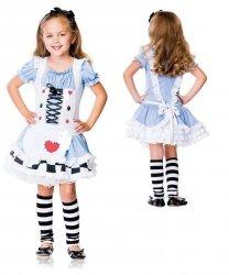 Kostium dla dziecka - Alicja w Krainie Czarów