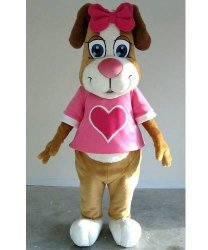 Strój reklamowy - Pink Dog