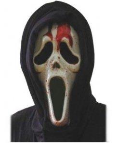 Maska lateksowa - Zakrwawiony morderca z filmu Krzyk