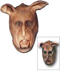 Maska lateksowa - Zając Jedlinek