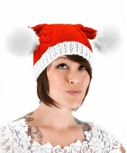 Czapka - Bożonarodzeniowy Bąbelek