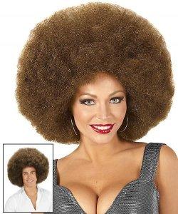 Peruka Afro - XXL Brown