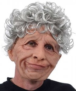 Maska lateksowa - Cioteczka Hilda