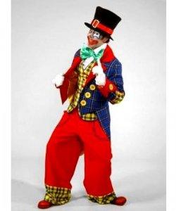 Profesjonalny strój dla klauna - Klaun Supreme Edition