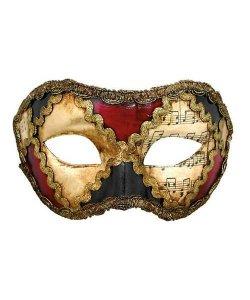 Maska wenecka - Colombina Sacchi Colore Musica