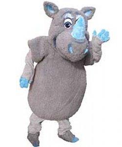 Chodząca maskotka - Nosorożec Błękitek