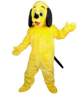 Strój chodzącej maskotki - Pies Żółtek