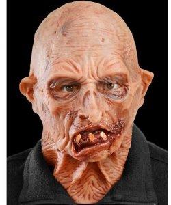 Maska lateksowa - Staruszek Zombie
