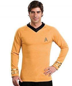 Kostium z filmu - Star Trek Gold Uniform