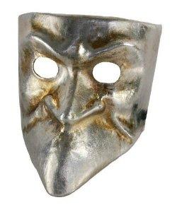 Maska wenecka - Bauta Argento