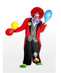 Profesjonalny strój klauna - Klaun Deluxe
