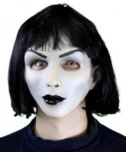 Maska lateksowa - Lady Goth