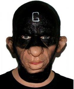 Maska lateksowa - G Man