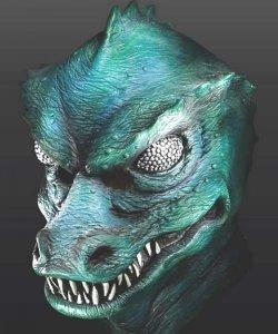 Maska lateksowa - Star Trek Gorn