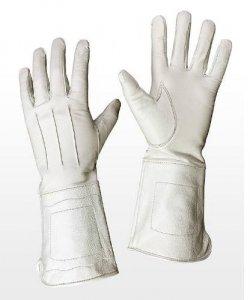 Rękawice - Cavaliere Białe
