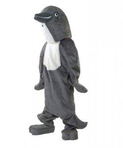 Strój chodzącej maskotki - Delfin Szary