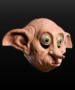 Maska lateksowa - Harry Potter Zgredek