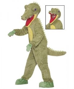 Chodząca maskotka - Krokodyl 2