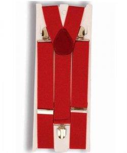 Akcesoria klauna - Czerwone szelki klauna