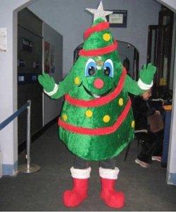 Chodząca maskotka - Świąteczna Choinka
