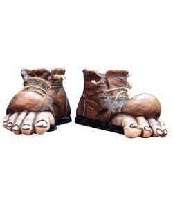 Sztuczne stopy - Hulk