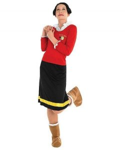 Kostium Karnawałowy - Olivia Dziewczyna Popeya